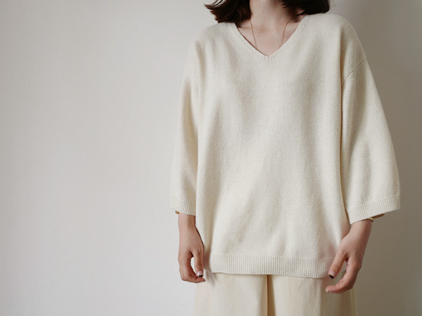 리누에 knit (3color)