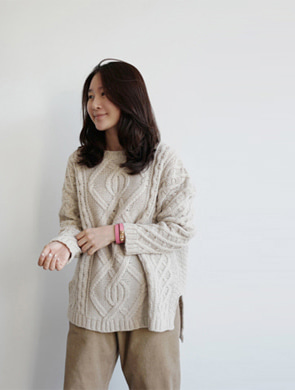 아이콧 knit (3color)